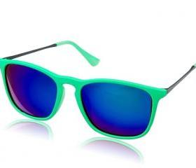 4187 Unisex Vintage Polarized Sunglasses (Green)